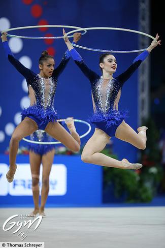 Neuvième place inespérée pour l Ensemble France de Gymnastique Rythmique bc9203453d2